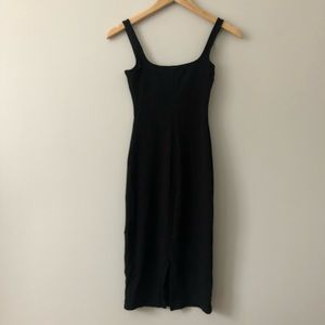 American apparel ponte bodycon dress